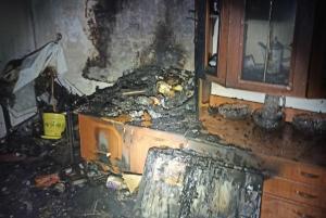 На пожаре погибла женщина. Новости Днепра