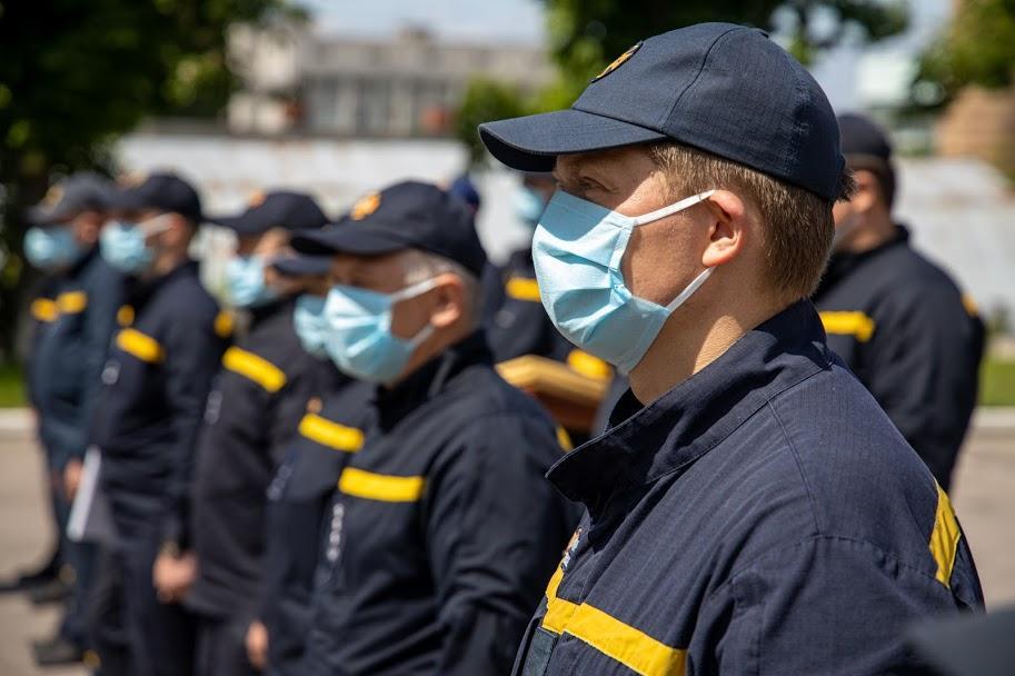 спасатели в Чернобыльской зоне