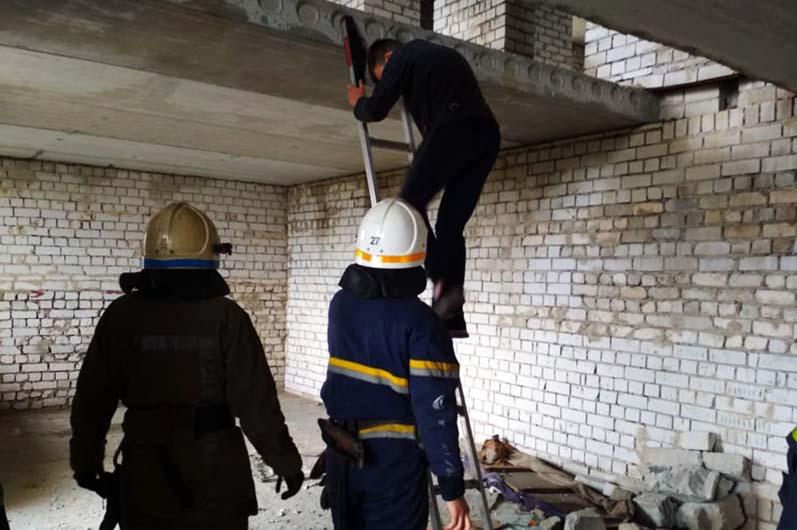 Мальчик забрался на 11 этаж недостроя. Новости Днепра