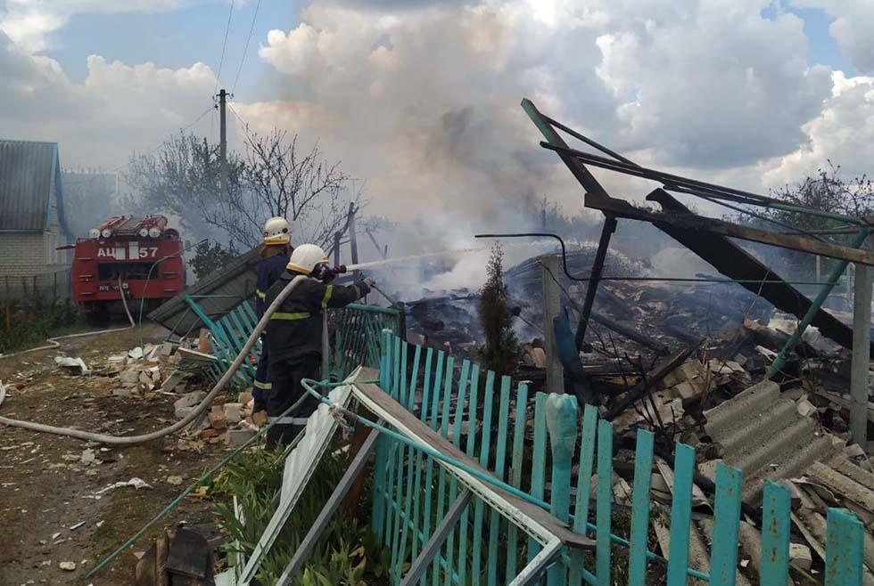 На Днепропетровщине взорвался дом. Новости Днепра