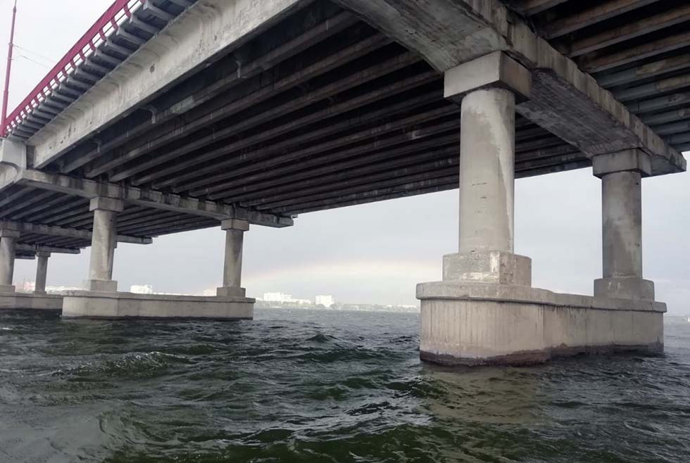 У Монастырского острова выловили тело парня, прыгнувшего с Нового моста. Новости Днепра