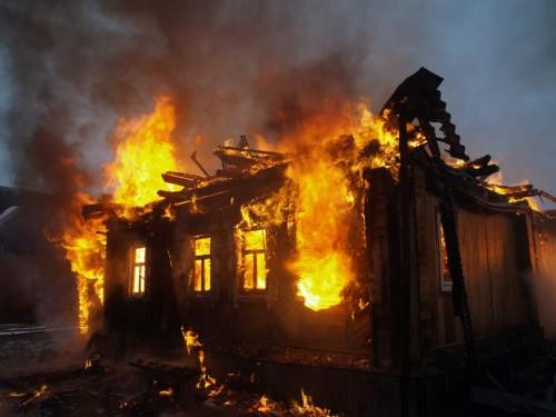 Дом загорелся сегодня ранним утром. Новости Днепра