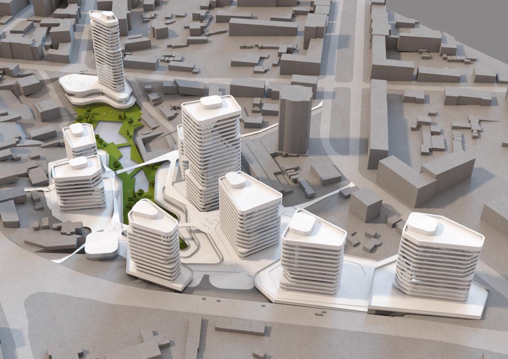 Современные многоэтажки вместо разрухи: как может преобразиться центр Днепра. Новости Днепра