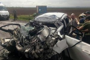 В ДТП серьезно пострадали и скончались два человека. Новости Днепра