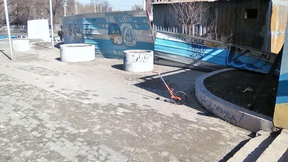 Мусор и реклама наркотиков: неравнодушные горожане наведут порядок в центре Днепра. Новости Днепра
