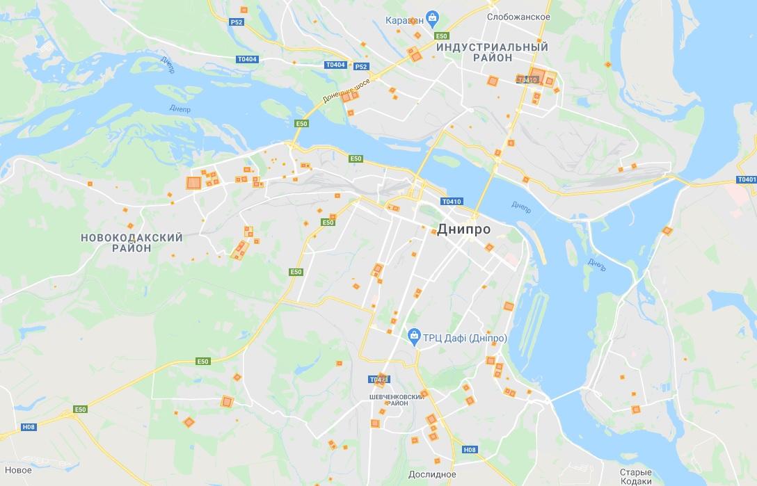 Данные по коронавирусу в Днепре на утро 15 мая. Новости Днепра