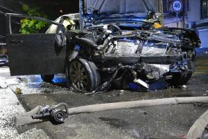 Автомобилист выехал на встречную полосу движения в результате чего произошло столкновение с другим авто. Новости Днепра