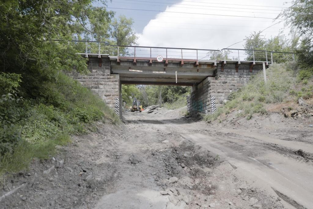 В Днепре начали капитальный ремонт улицы Крестьянский спуск. Новости Днепра