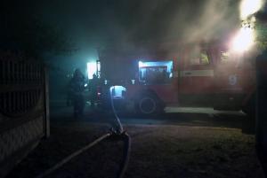 На пожаре пострадал мужчина. Новости Днепра