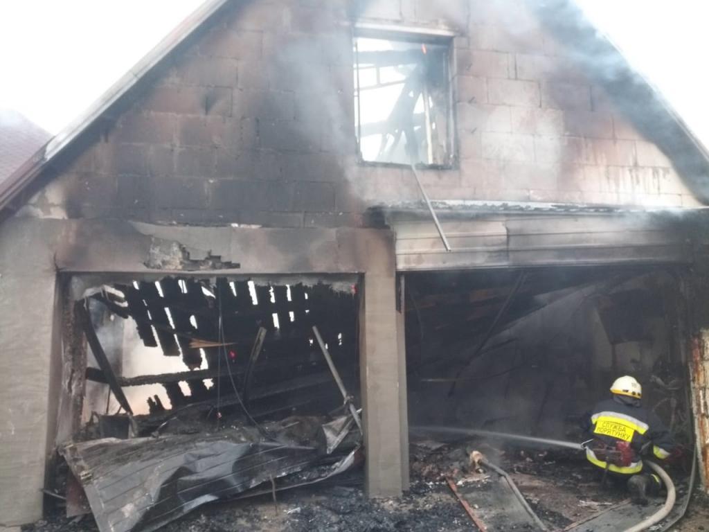 Пожар в Подгородном под Днепром: подробности. Новости Днепра