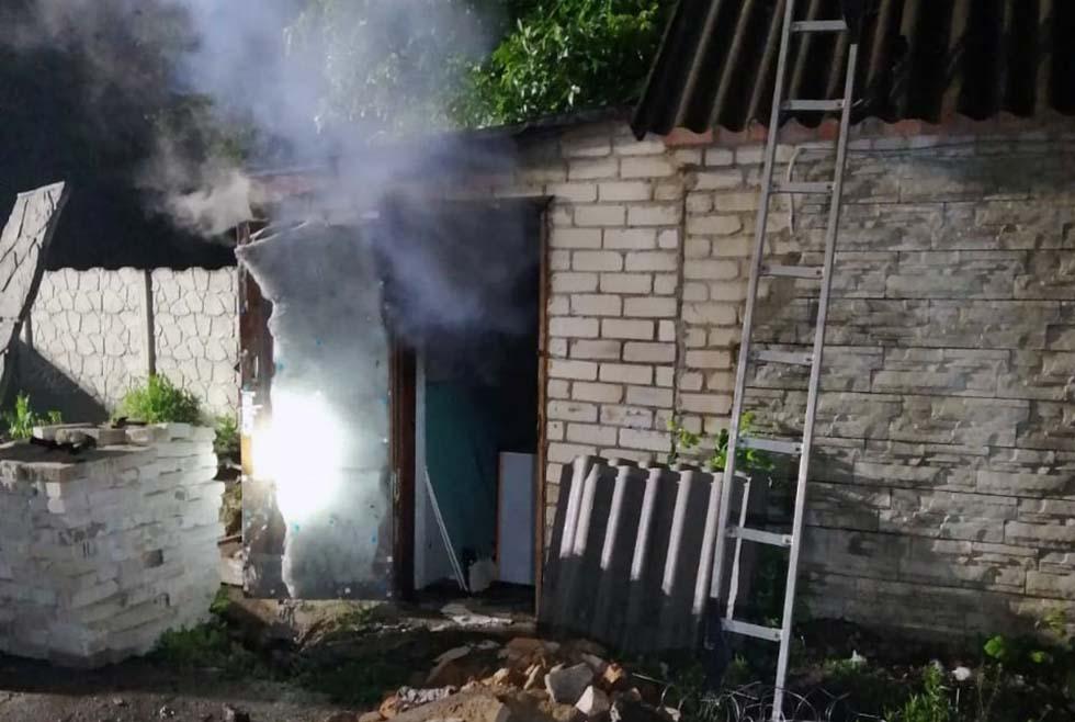 Пожар на Днепропетровщине: обнаружено тело мужчины. Новости Днепра