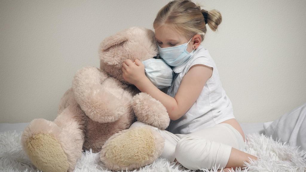 Стало известно, как дети переносят коронавирус. Новости Днепра