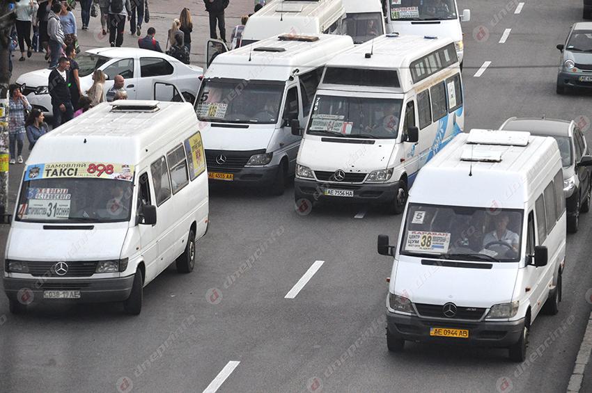 Днепряне пожаловались на водителя одной из городских маршруток, который работал без маски. Новости Днепра
