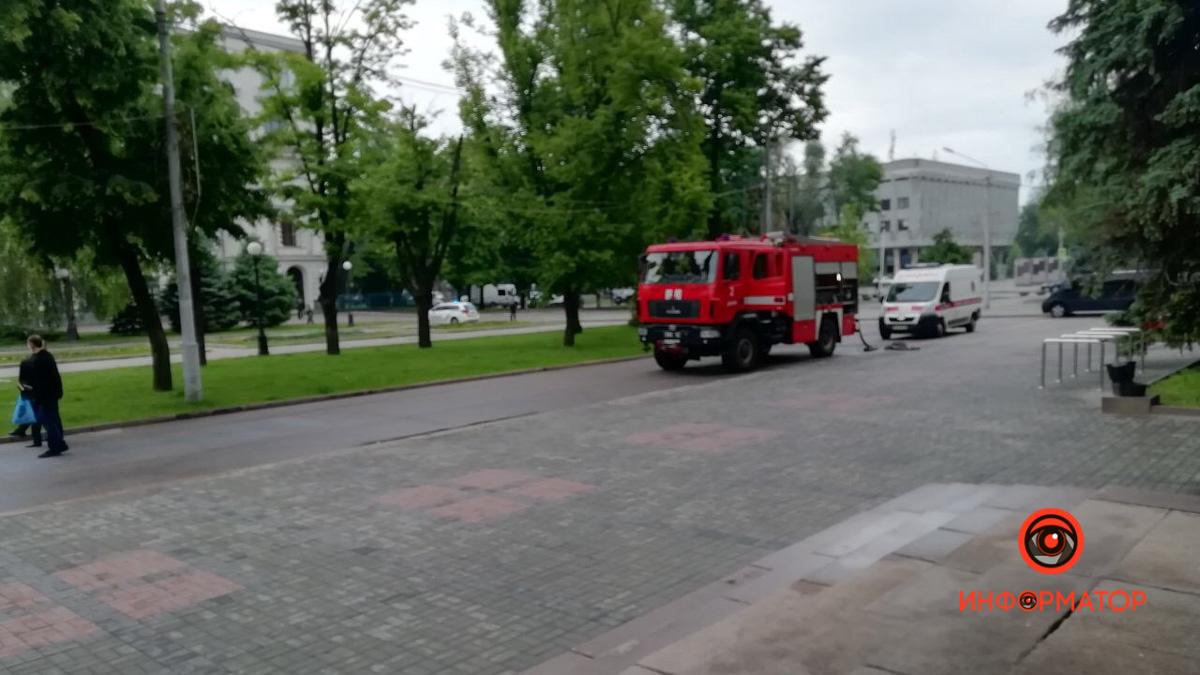 Полиция, скорая и спасатели: что происходило в центре Днепра. Новости Днепра