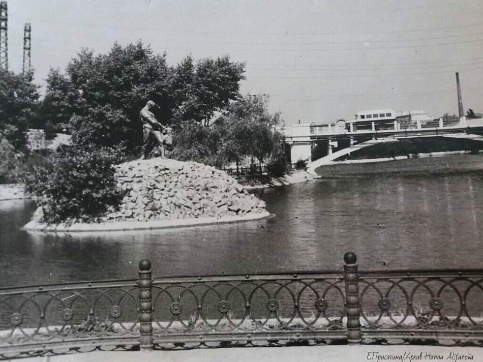 парк Глобы в Днепре