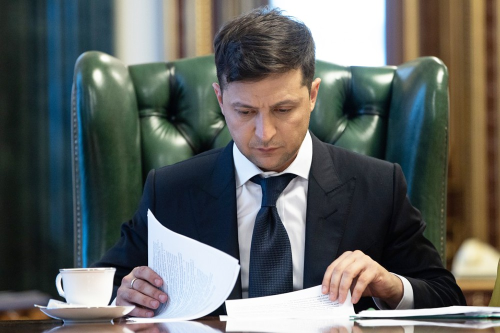 Зеленский подписал закон о банках