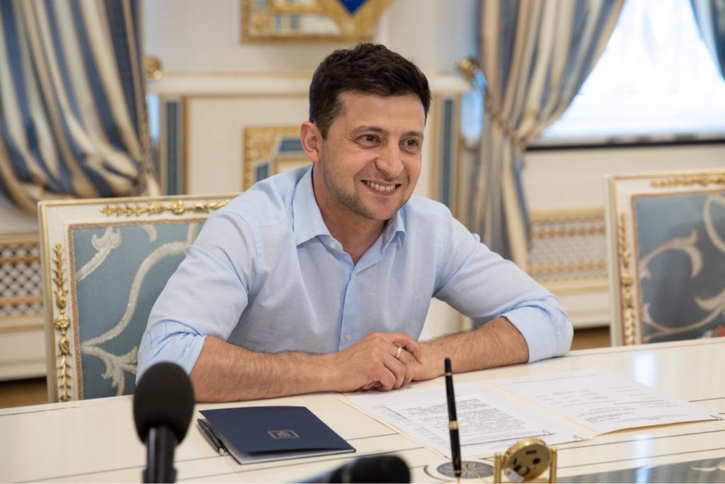 Президент Украины. Владимир Зеленский. Новости Днепра