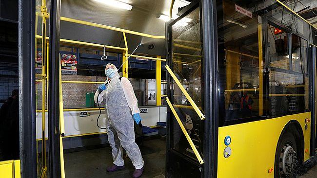 В ряде городов и областей возможна повторная остановка общественного транспорта. Новости Украины