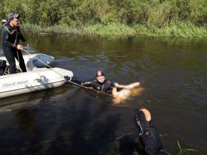 Молодой человек нырнул в воду и исчез. Новости Днепра