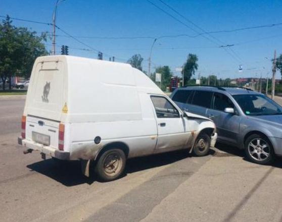 В ДТП пострадал водитель. Новости Днепра