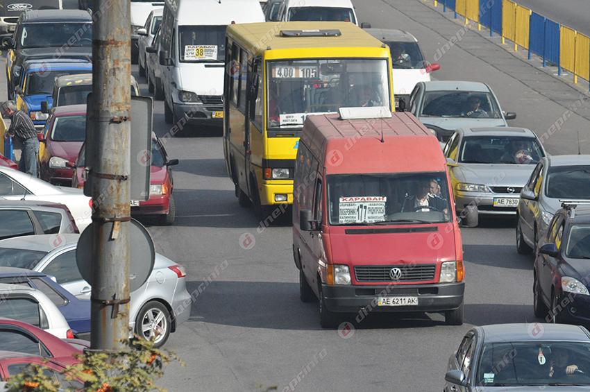 Днепряне просят возобновить работу маршрута №118