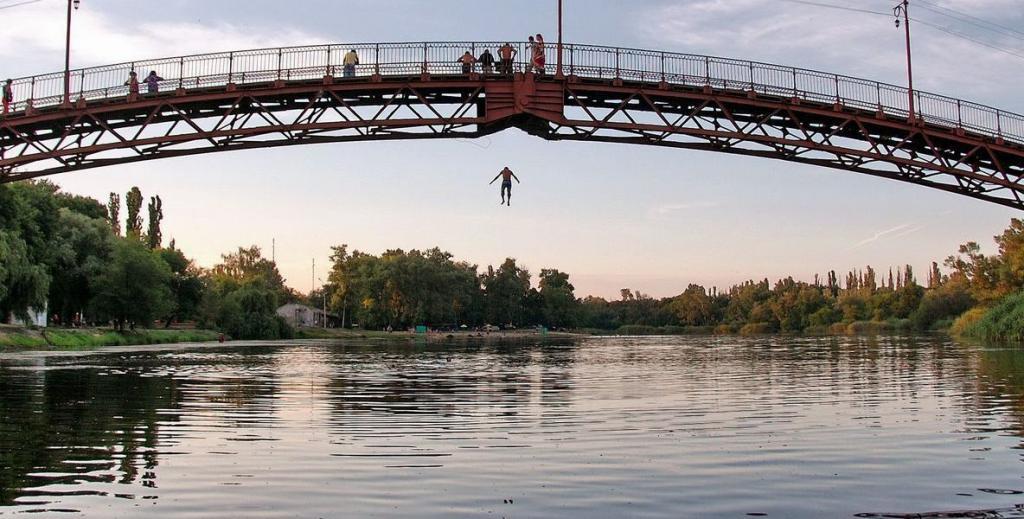 мост подростки Новомосковск