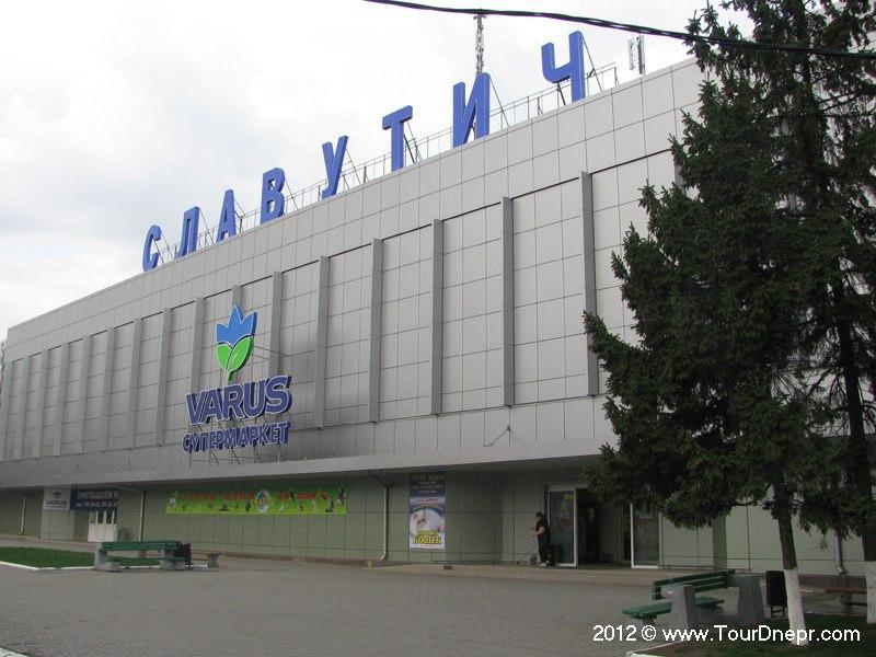 Новый фасад здания