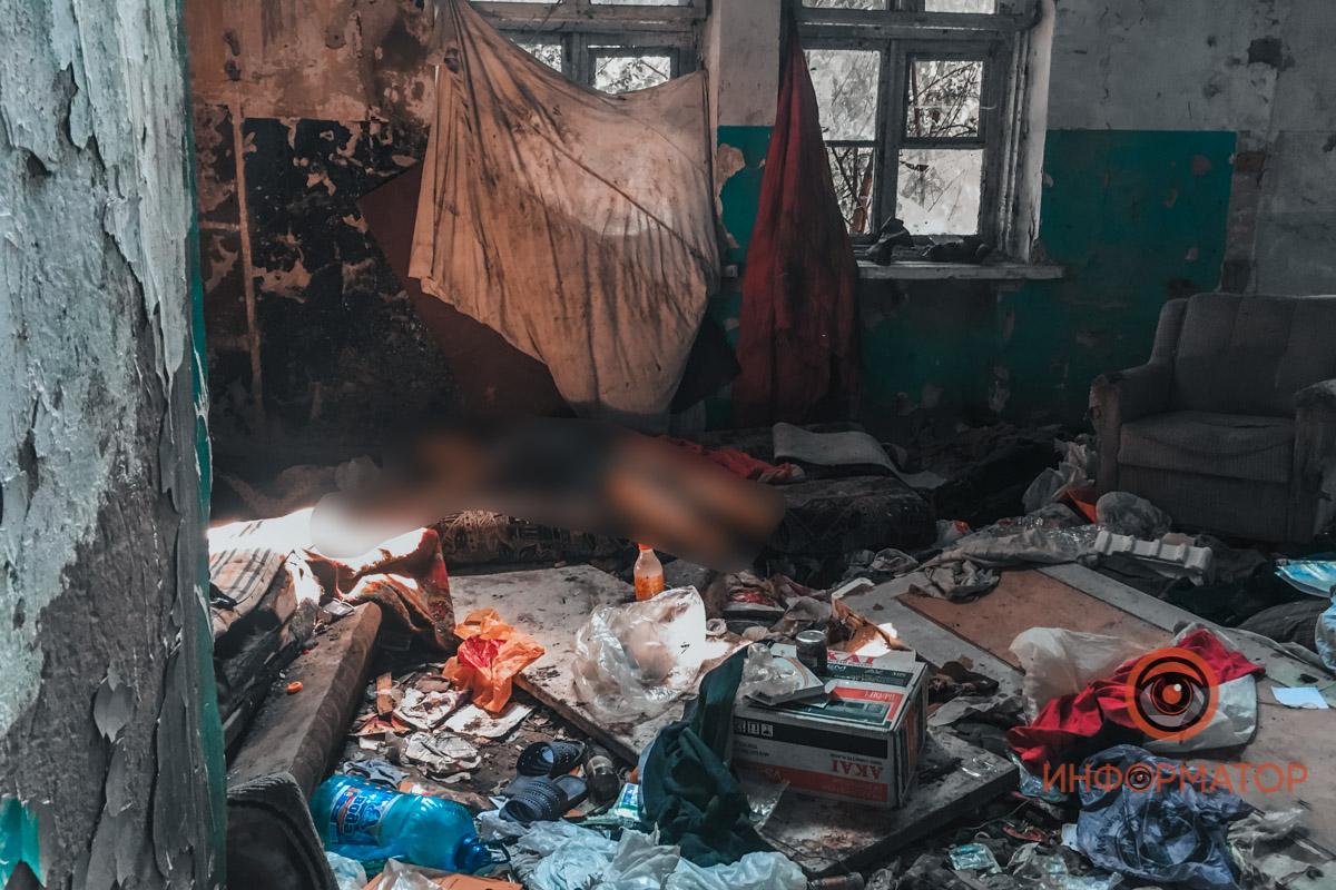 В Днепре найден обнаженный труп женщины. Новости Днепра