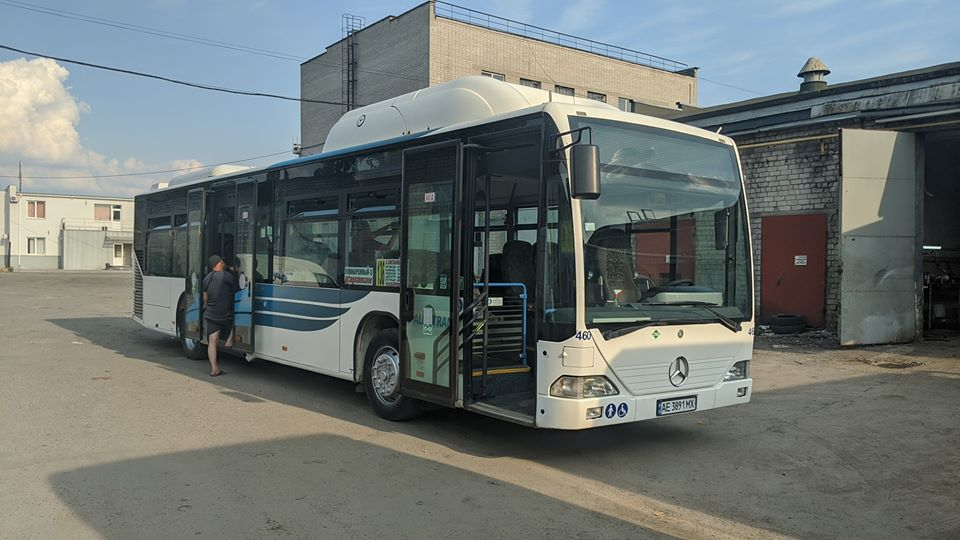 Большие автобусы в Днепре