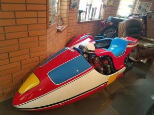 Днепряне отреставрировали уникальный спортивный мотоцикл. Новости Днепра