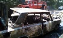 Огонь уничтожил полностью: авто загорелось на ходу