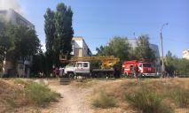 В Новой Каховке – масштабный пожар, людей эвакуировали: опубликовано видео