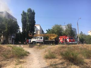 Есть информация о том, что поджог устроил мужчина, который проживает в этом доме. Новости Украины