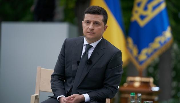 Зеленский рассказал об отношениях с Яковом Смолием.  Новости Украины