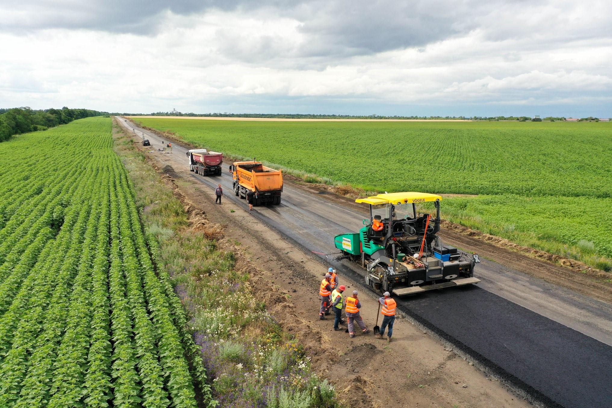 На Днепропетровщине стартует ремонт трассы. Новости Днепра