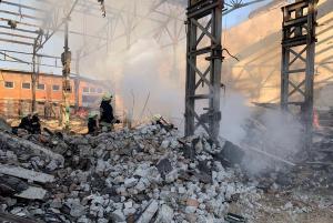 Пожар тушили 9 спасателей. Новости Днепра