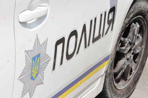 Патрульное авто врезалось в авто. Новости Днепра