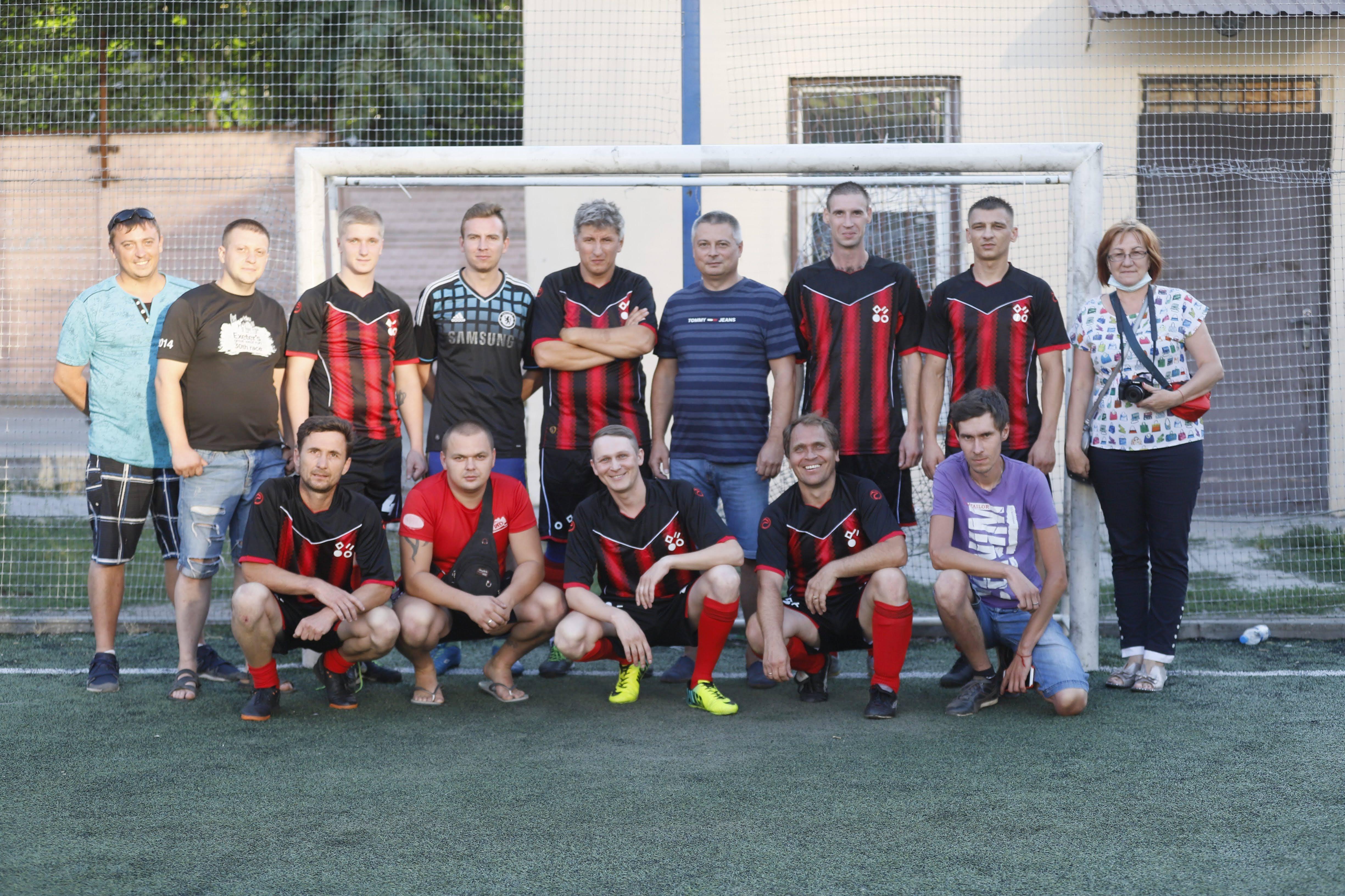 В Днепре прошел футбольный турнир для коммунальщиков. Новости Днепра