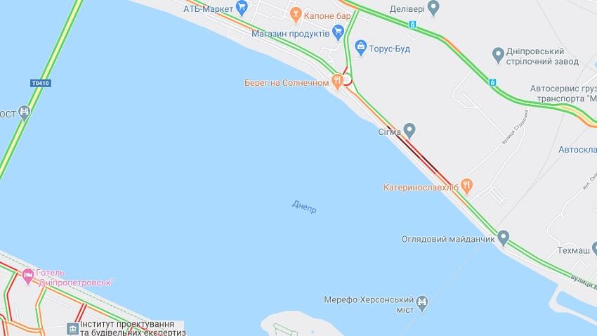 В Днепре произошло серьезное ДТП на Малиновского. Новости Днепра