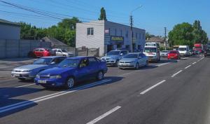 Автомобилистам стоит выбрать альтернативные маршруты. Новости Днепра