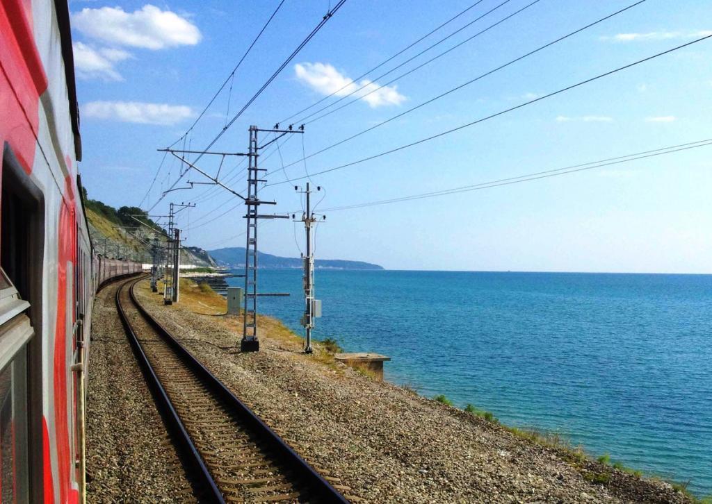 морские курорты поезда
