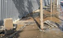 «Потоп» в центре Днепра: улицы залило водой
