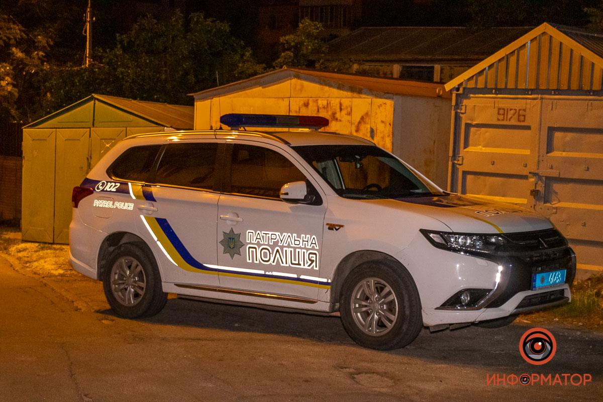 Погоня полиции за пьяной компанией на авто в Днепре. Новости Днепра