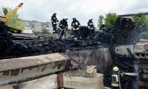 Серьезный пожар в Днепре: огонь тушили 2 бригады спасателей