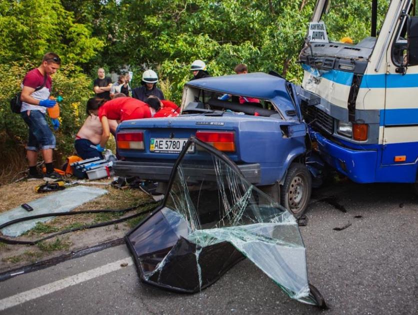 В результате ДТП погиб водитель. Новости Днепра