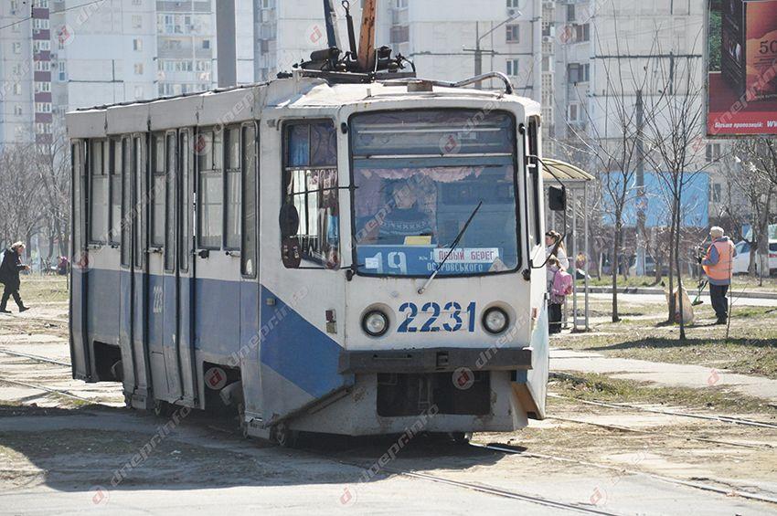 трамваи №19