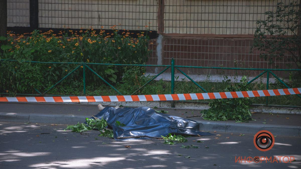 Днепрянин погиб после падения с 8-го этажа. Новости Днепра