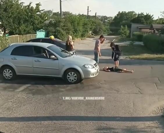 На ребенка наехала машина. Новости Днепра