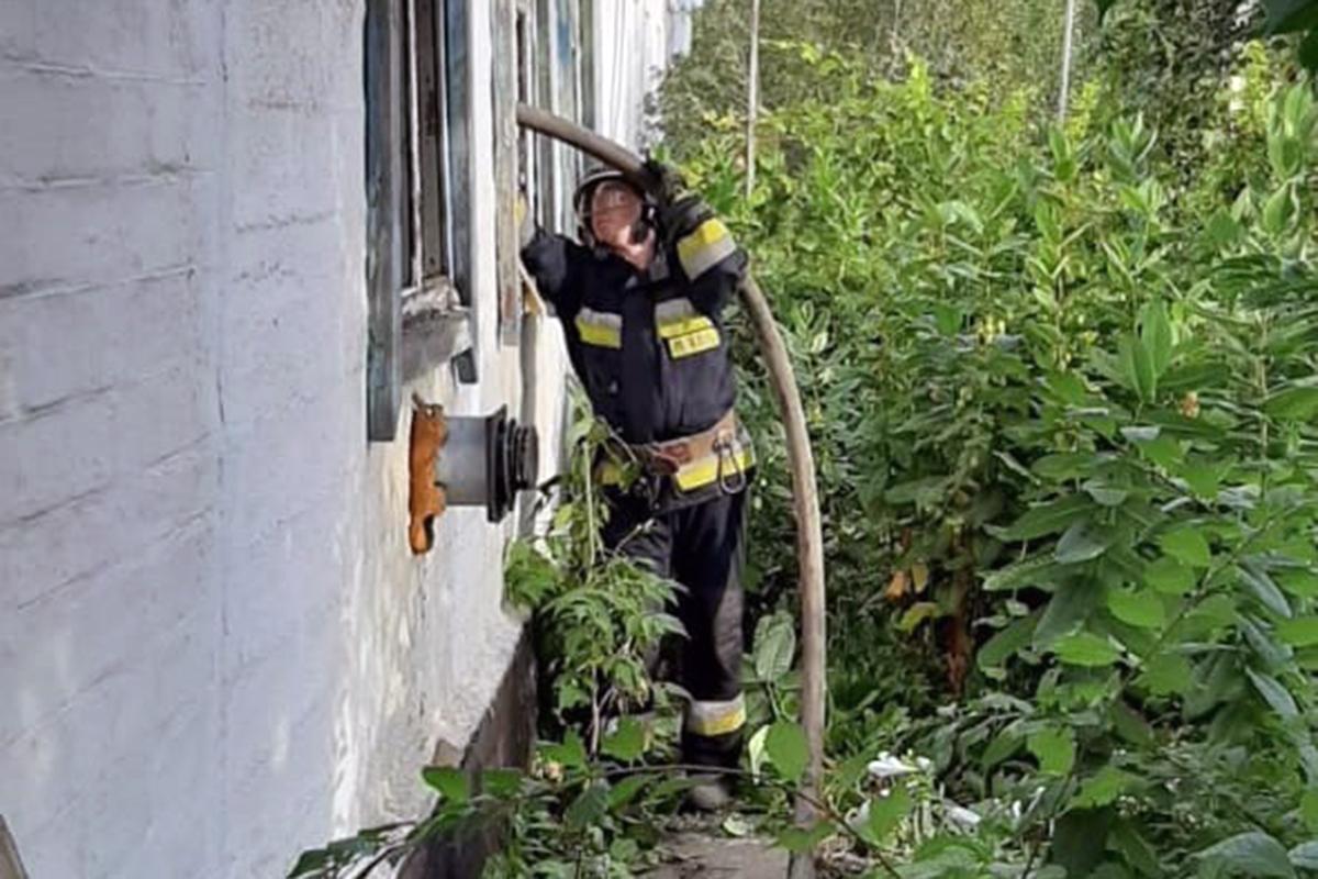 В Днепре во время пожара погибла женщина. Новости Днепра