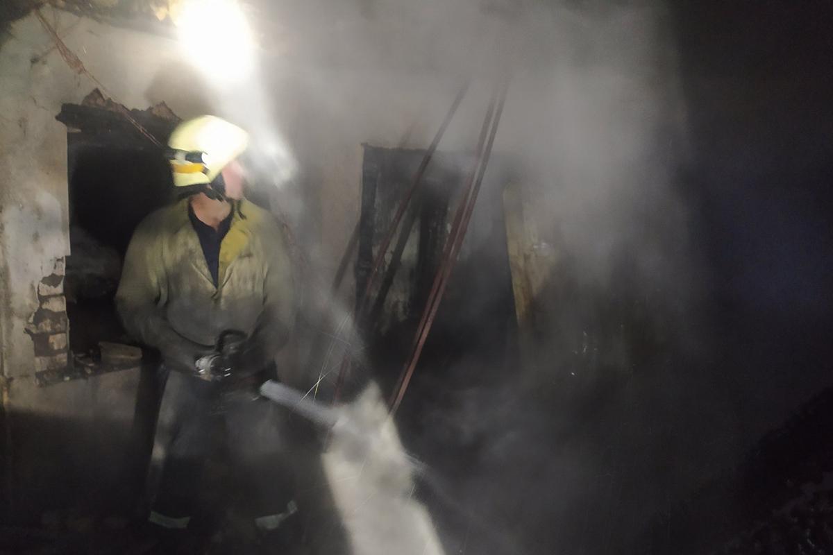 На Днепропетровщине горела летняя кухня. Новости Днепра